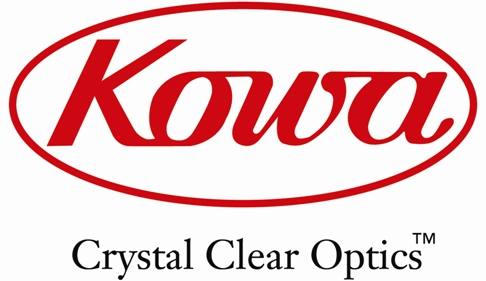 Kowa Logo With Crystal Clear Optics Tagline_med
